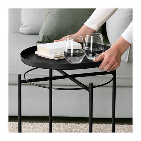 Bathroom Tray Ikea by Tray Table Gladom Black En 2019 Deck Outdoor Space