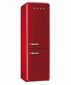 Refrigerator fab32 no frost smeg 5039s style for Smeg kühlschrank fab32