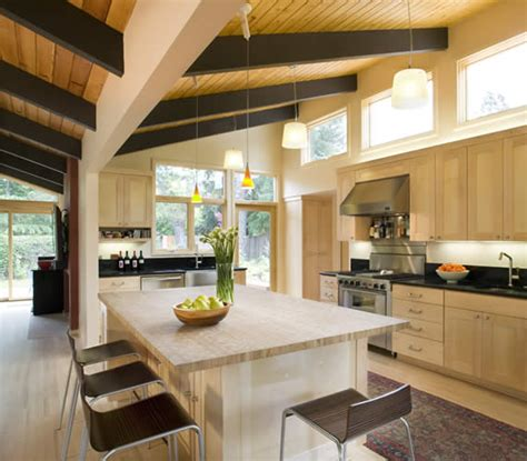 the kitchen design gustave carlson design mid century modern project 2718