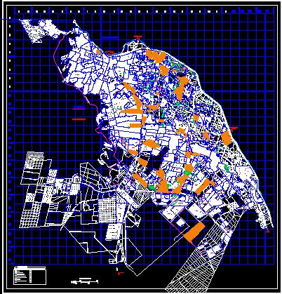 urban city charter juarez dwg block  autocad designs cad