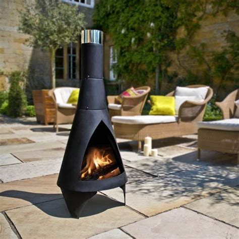 chiminea modern 17 best images about modern chiminea for outdoor on