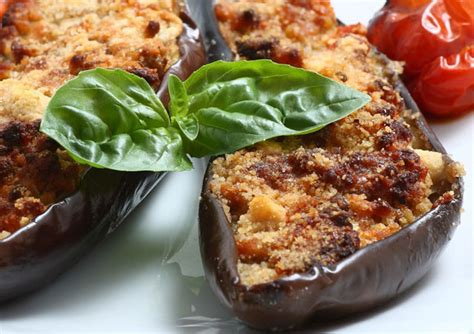 aubergine farcie au thon ww recette ww plat  recette