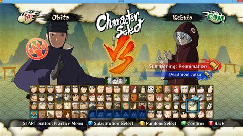Uchiha Obito Unmasked At Naruto Ultimate Ninja Storm 3