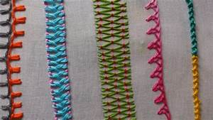 Basic embroidery stitches tutorial for beginners - Simple ...
