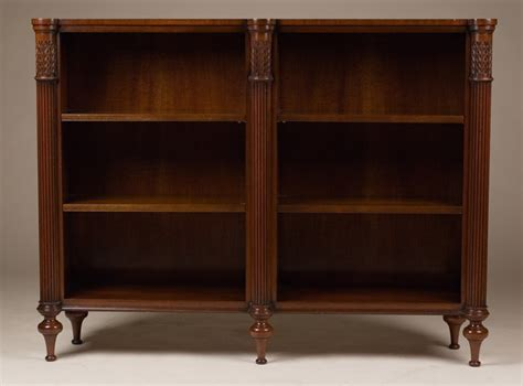 Reproduction Bookcase by Antique Reproduction Open Bookcase