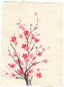 Pencil Head (Another cherry blossom drawing - 10x15, ink ...