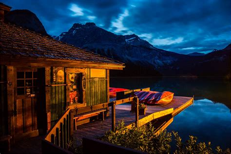 cabin by the lake emerald lake christopher martin photography