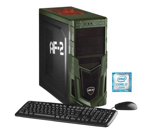 hyrican gaming pc intel 174 i7 6700 16gb ssd hdd geforce