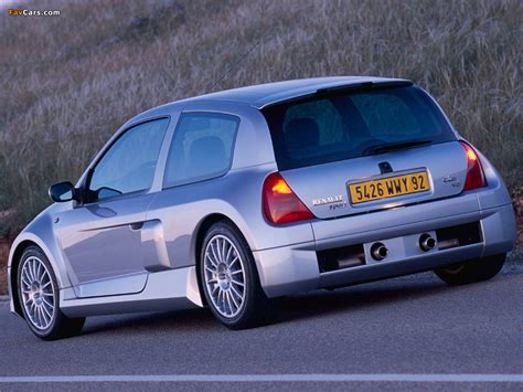 Renault Clio V6 Sport 19992001 Pictures (1024x768