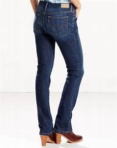 Levi's Women's 505 Straight Leg Jean - Sleek Blue