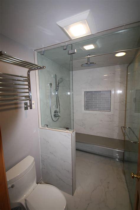 Bathroom Remodel Shower by Bellevue Bathroom Remodel With Steam Shower