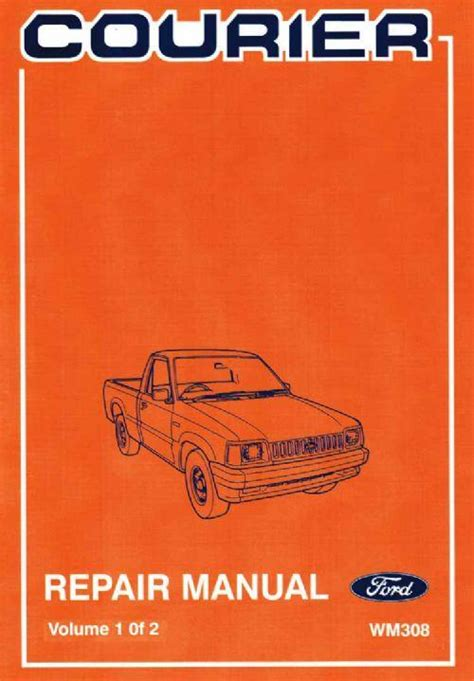 car engine manuals 1986 ford courier electronic throttle control ford courier 1985 1986 factory repair manual ford australia