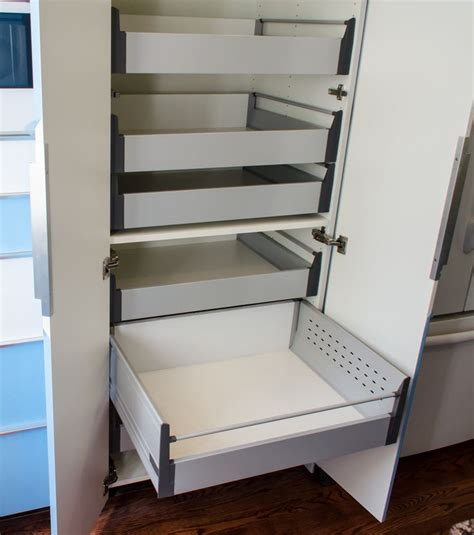 pantry cabinet with pull out shelves ikea s 30 pantry cabinet with blum tandembox pull out