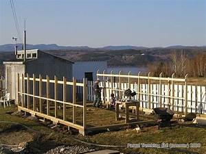 Construire Une Extension En Bois Soi Même : structure dune serre en bois voir comment construire une ~ Premium-room.com Idées de Décoration