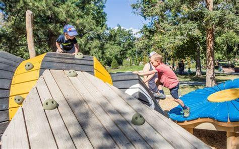 washington park natural playground bug sculptures