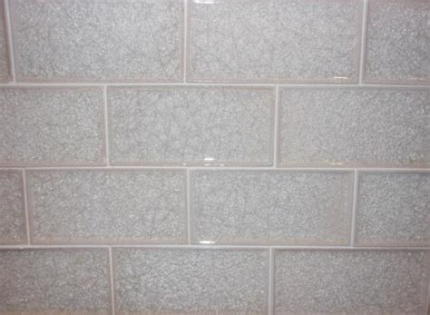 3 quot x 6 quot subway crackle glass tile bianco perla bp