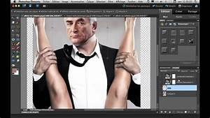 Montage Photo Photoshop : mettre son visage sur une autre photo avec photoshop elements youtube ~ Medecine-chirurgie-esthetiques.com Avis de Voitures