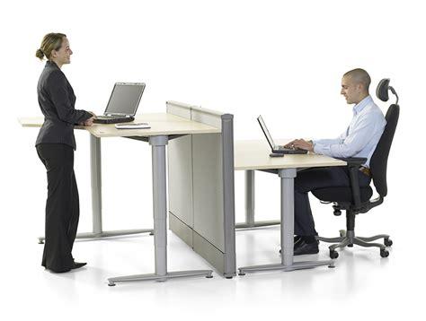 bureau ajustable table ergonomique reglable en hauteur