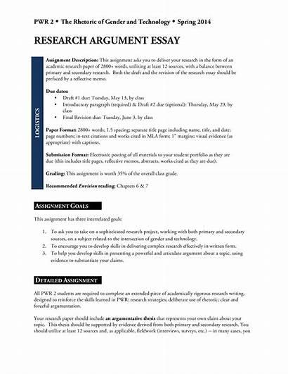 Essay Argumentative Research Template Sample Templates Allbusinesstemplates