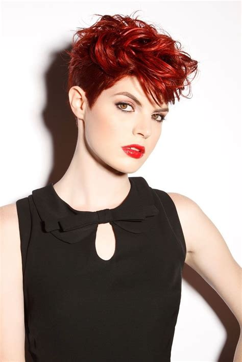 red hairstyles for short hair hair world magazine