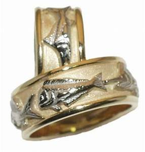 wedding rings pictures fish wedding ring With fishing wedding ring
