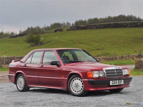 Mercedes-Benz 190 E 2.5-16 UK-spec (W201) 1988–93 images ...