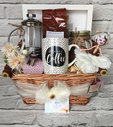 Sometimes it is that morning ritual that gets your day started. Coffee Lover's Basket   Coffee gift baskets, Coffee gift ...