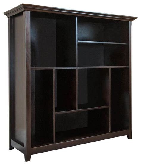 10 Inch Wide Bookcase by Amherst 44 Inch Wide X 44 Inch High Multi Cube Bookcase