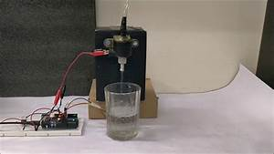 Arduino Based Automatic Water Dispenser Project