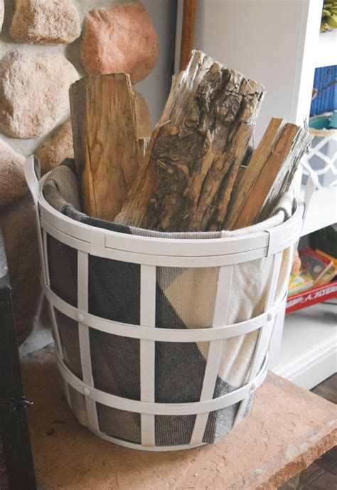 fireplace wood basket     house   home