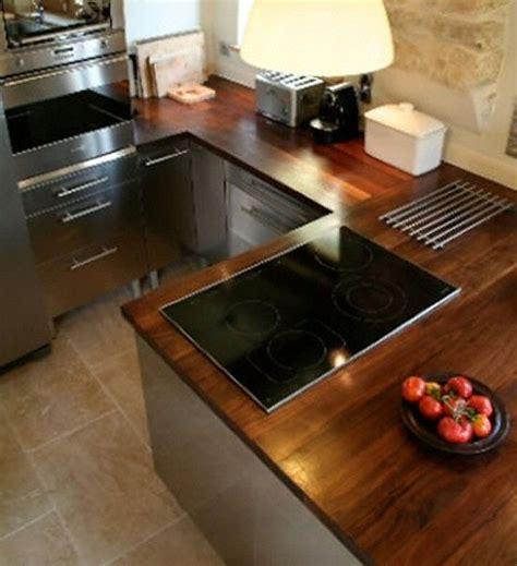 cuisine plan de travail bois massif davaus cuisine moderne plan travail bois avec des