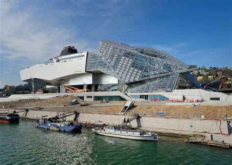 musee d moderne lyon serl le mus 233 e des confluences c 244 t 233 travaux
