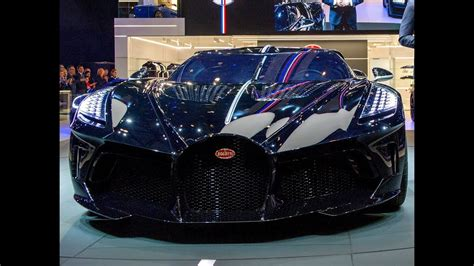 This bugatti is the world's most expensive car built it is not news that bugatti makes very expensive automobiles. FIRST LOOK | $19 Million BUGATTI LA VOITURE NOIRE - Geneva Motor Show GIMS 2019 - YouTube
