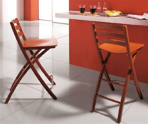 chaise bar pliante cuisine en image