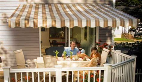 sunsetter retractable awnings  awnings  sunspaces company