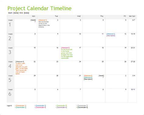 calendar timeline templates  google docs ms