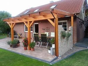 Terrassen berdachung holz f r h chste anspr che for Holz terrassenüberdachung
