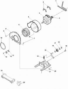 Amana Dryer Motor And Fan Assembly Parts