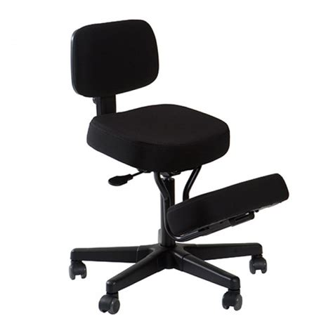 kneeling posture chair with back support by qdos now