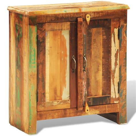 reclaimed kitchen cabinet doors reclaimed wood cabinet with two doors vintage antique 4530