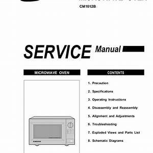Samsung Microwave Service Manual  U2013 Bestmicrowave