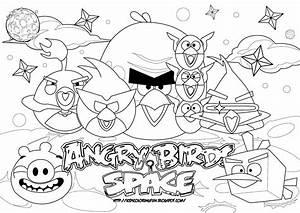 angry birds space pigs coloring pages - angry birds desenhos para colorir pintar e imprimir dos