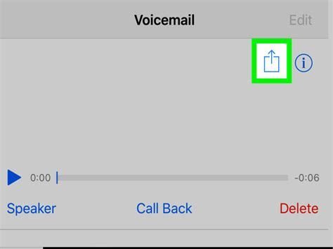 save voicemail iphone how to save voicemails from iphone with pictures wikihow