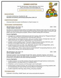 sample resume for early childhood teacher sample resumes With how to write a teacher resume