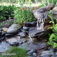 how to build a water feature 20+ Impressive DIY Water Feature And Garden Pond Ideas