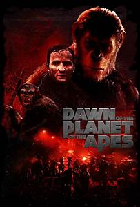 Dawn of the planet of the Apes fan-art Poster by ...