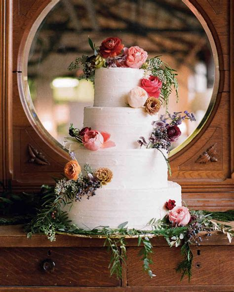 festive winter wedding cakes martha stewart weddings