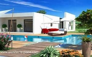Maison Architecte Plain Pied : plan de maison moderne toit plat villad 39 architecte 144 villa contemporaine ~ Melissatoandfro.com Idées de Décoration