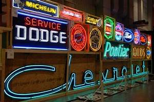 Neon Chevrolet sign sells for $31 000 Old Cars Weekly