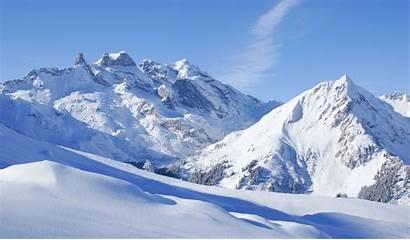 Winter Montafon Valfontana Hintergrund Ausblenden